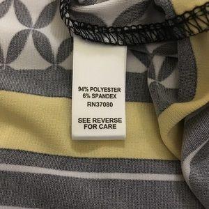Cato Tops - EUC CATO Awesome High Low Diamond Pattern Tunic